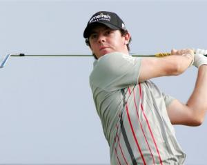 Rory McIlroy: 'How can I intimidate Tiger Woods?' Photo Reuters