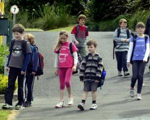 Rotary Park School pupils leave for the last time as the school closes due to insufficient roll...