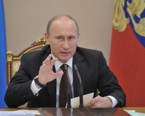 Russian President Vladimir Putin. Photo Reuters