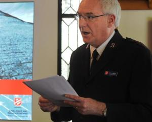 Salvation Army addictions and supportive accommodation rural manager Auxiliary Captain Gerry...