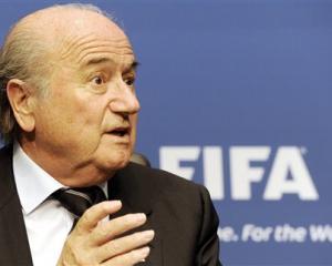 Sepp Blatter. Photos AP