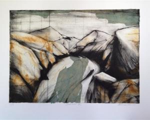 Shotover (2012) by  artist Anna Reid, of Dunedin. Photo supplied.