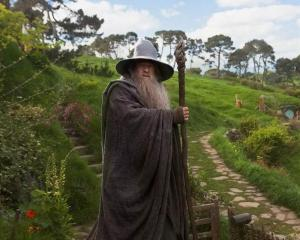 Sir Ian McKellen as Gandalf in The Hobbit: An Unexpected Journey. Photo supplied.