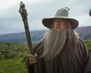 Sir Ian McKellen stars as Gandalf in the 'Hobbit' movies. Photo MCT