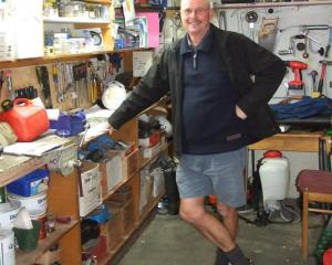 Stuart ''Podge'' Cochrane will retire after 15 years as Queenstown Primary School's caretaker at...