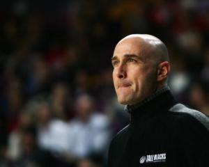 Tall Blacks coach Nenad Vucinic.