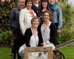 Taste of the Valley team (from left back) Renee Judson, Joanna Jack, Shelley Milne, (middle)...