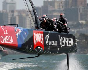 Team NZ's future is looking brighter with the news several private investors have stumped up...