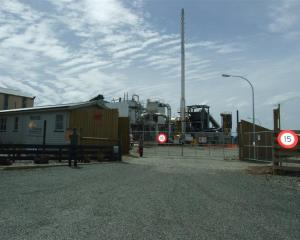 The briquette plant south of Mataura,  sold by Solid Energy.