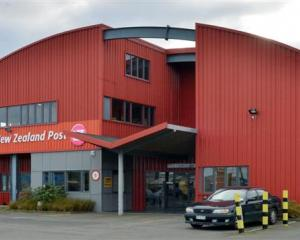 The Dunedin mail centre will close next year, leaving 73 people without a job. Photo by Gerard O...