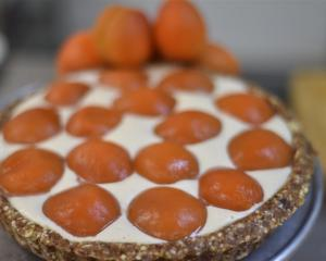 Apricot and ginger tart. Photos: Craig Baxter