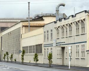 The Hillside Engineering Workshops in Hillside Rd, South Dunedin. Photo by Gerard O'Brien.