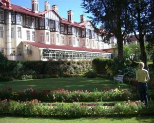 The historic Grand Hotel at Nuwara Eliya, the heart of the  tea-growing highlands. Photos by Jim...