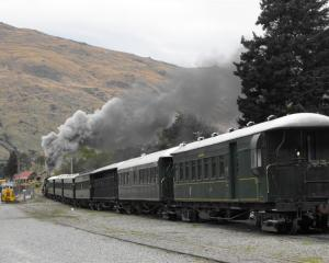 The Kingston Flyer in action in September. Photo by Olivia Caldwell.