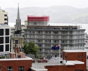 The rooftop extension of the Scenic Hotel Group's Hotel Dunedin City, on the corner of Princes...