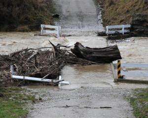 The Shag River covers Craig Rd near Palmerston.