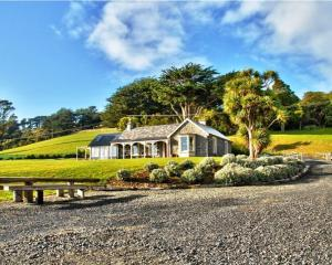 "The ""Springfield"" homestead built on Otago Peninsula in 1864 by Scottish immigrant John Mathieson..."