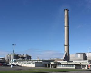 The Tiwai Point aluminium smelter. Photo by Allison Beckham.
