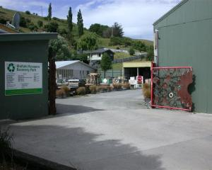 The Waitaki Resource Recovery Park in Oamaru is facing financial difficulties. Photo by David Bruce.