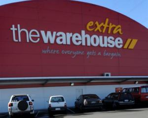 The Warehouse shares are providing value. Photo by Peter McIntosh.