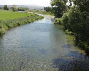 The water quality of Otago's major rivers  could be under threat. Photo by Bill Campbell.