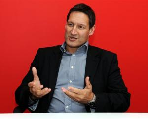 There are ongoing exciting  challenges for Vodafone chief executive Russell Stanners. Photo by...