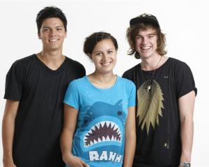 Tim Lambourne (left), Rose Matafeo and Connor Nestor will present U Live, a daily pop culture...