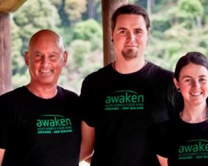 Tim Maples (left) and husband-and-wife Sam Stewart and Penny Kingan have formed a company  to...