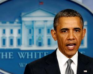 US President Barack Obama makes a statement on the Boston bombing from the White House in...