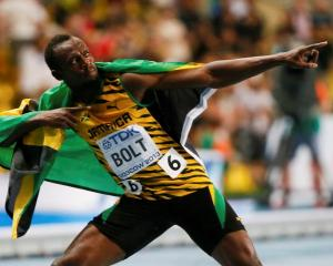 Usain Bolt. Photo Reuters