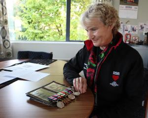 Balclutha RSA treasurer Pauline Soper, who will travel to Italy to lay a wreath alongside the...