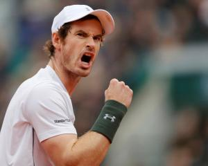 Andy Murray: 'I am extremely proud. I played one of my best claycourt matches today.' Photo Reuters