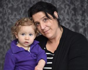 Solo mum Tracey McCauley, of St Kilda, with daughter Skyla (1), says yesterday's Budget...