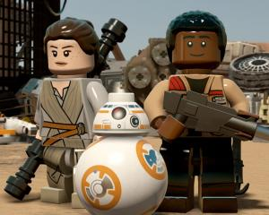 Lego Star Wars characters. Photo: Bang Showbiz