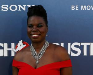 Leslie Jones. Photo by Reuters