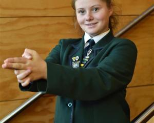 Equestrian Stephanie Jasperse, of Columba College, will represent New Zealand at an international...