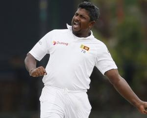 Rangana Herath. Photo Reuters