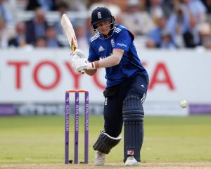 Joe Root top-scored for England against Pakistan. Photo Reuters