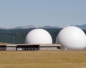 The Government's spy base in Waihopai.
