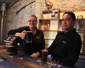 Omakau Commercial Hotel owners Stacey Stevenson and Michael Thomas say drink-driving enforcement...
