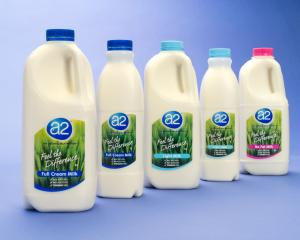 The a2 Milk Company is finding success in China. Photo supplied.