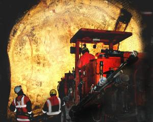 Oceana Gold will deliver a review of its Correnso underground operation at Waihi. Pictured, a...