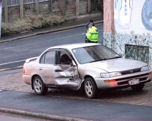 No-one was hurt in a collision between a car and a bus at the intersection of Glenpark Ave and Argyle St, in Mornington, Dunedin, about 5.40pm yesterday.