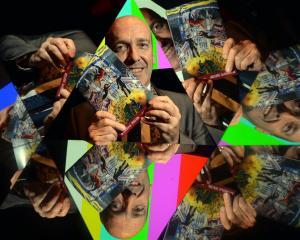Arts Festival Dunedin director Nicholas McBryde launches the festival programme at the Regent...
