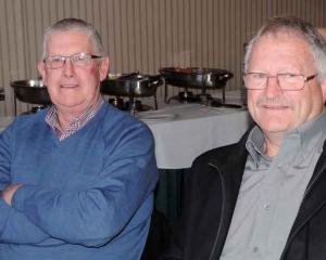 Bill Kingan of Enfield, and Murray Isbister of Oamaru.