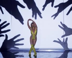 Britney Spears performs at the MTV VMAs. Photo: Reuters
