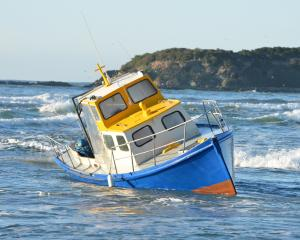 Allen Eade's fishing boat. Photo by Stephen Jaquiery.