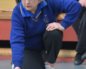 South Island representative Ann Cottrell in action for Otago against the North Island in Dunedin...