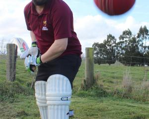 Clutha Valley cricket player Richard Ray hopes to see the Balclutha Cricket Club reformed and...