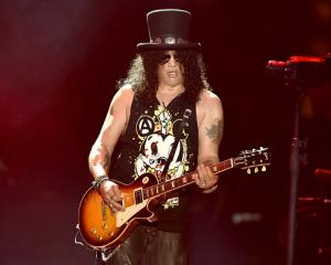 Guns N' Roses axeman Slash. Photo Getty
